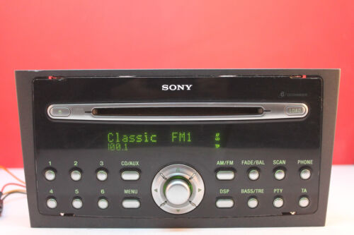 FORD MONDEO 6000 6 CD CHANGER AUX RADIO PLAYER STEREO CODE 2004 2005 2006 2007