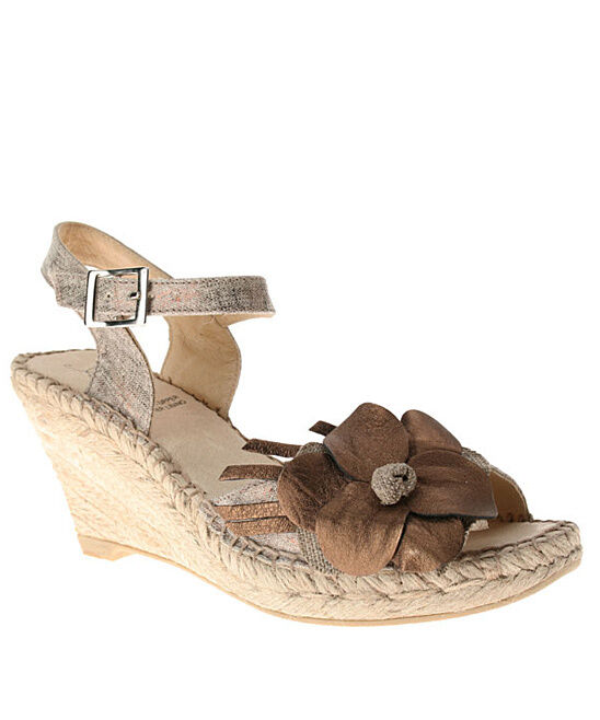 NIB Spring Step Azura Bronze Baltimore Women Wedge Sandal