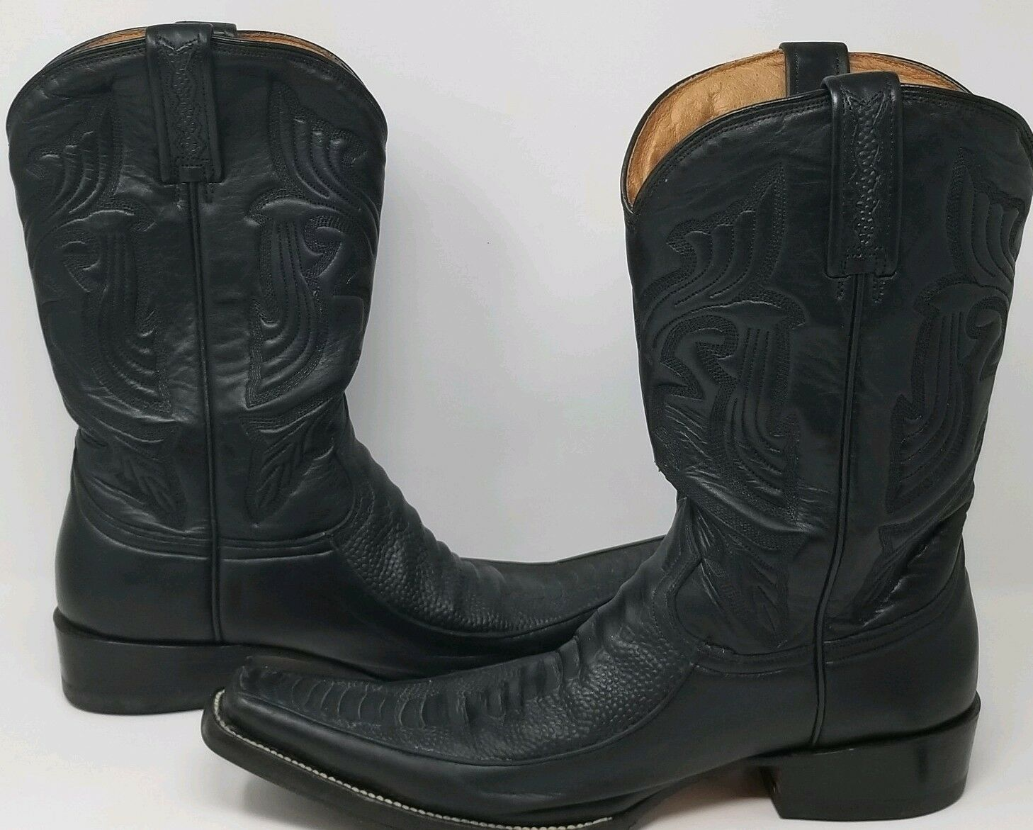clienti prima reputazione prima Rancho Uomo Leather Cowboy Cowboy Cowboy avvio 28 1 2 E  vendita outlet