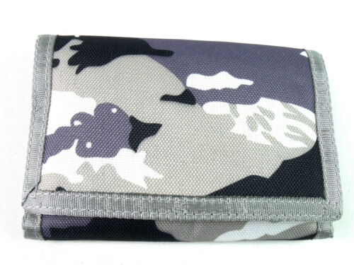 Mens Boys Camouflage New Canvas Wallet Coin Pouch Credit Card Holder Army