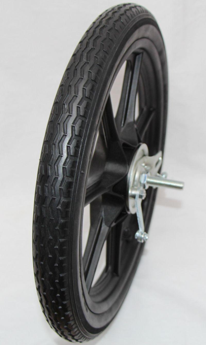 Rad 16 x 1.75 Zoll mit Trommel Bremse Reifen Felge Seifenkiste Fahrradanhänger