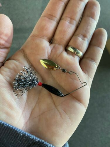 Limited Dynamic Lures Micro Spinnerbait Black Midnight