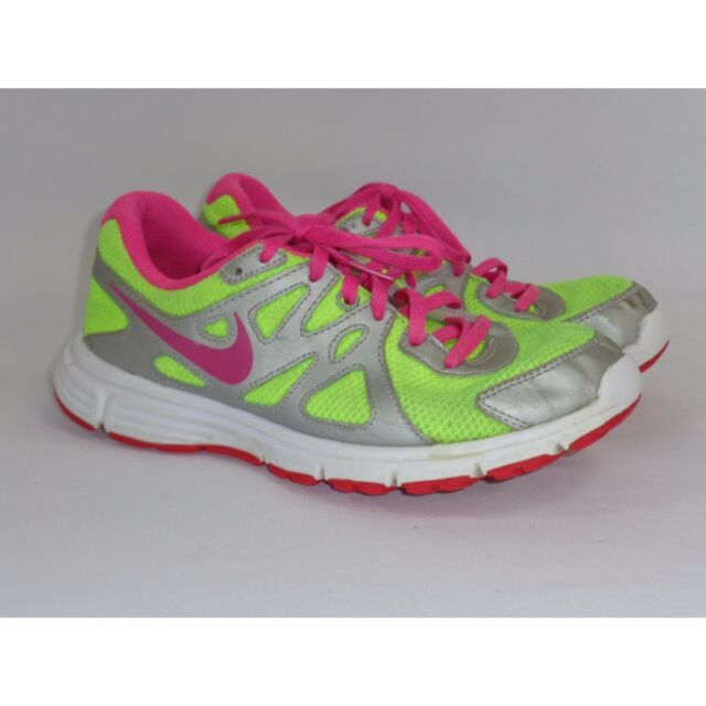 e5812aec595a Nike Revolution 2 Running Shoes Neon Yellow Pink (555090-761) US 5.5 ...