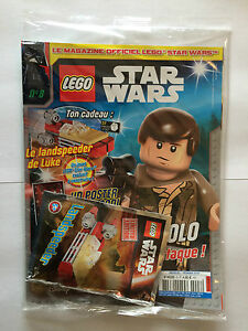 FRENCH LEGO STAR WARS MAGAZINE N?8 + POLYBAG 911608 LANDSPEEDER SEALED MINT NEUF