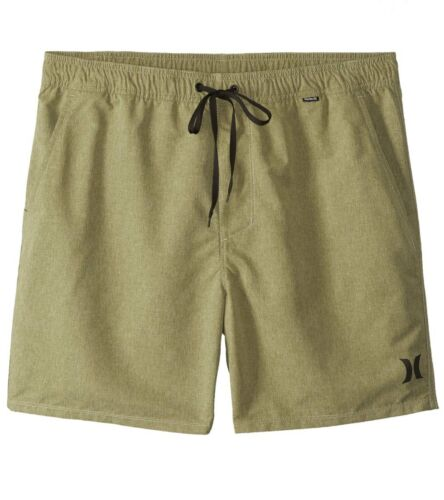 "Hurley Men/'s One /& Only Heathered Volley 2.0 17/"" Boardshorts"