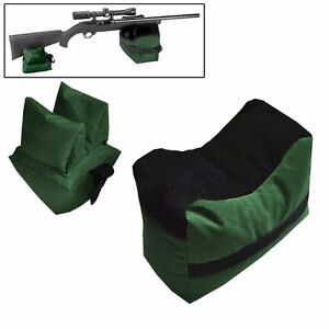 Portable-Front-Rear-Shooting-Bench-Rest-For-Rifle-Bag-Hunting-Gun-targets-Stand