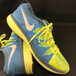 huge discount 71b56 784d1 Image is loading NIKE-FLYKNIT-LUNAR-2-RUNNING-SHOES-Mens-SIZE-