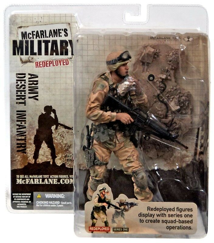 Military ROTeployed Series 1 Army Desert Infantry Action Figure
