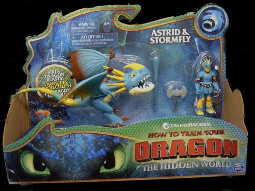 Dragons 3 Die geheime Welt Astrid /& Sturmpfeil//Stormfly NEU//OVP Hidden World