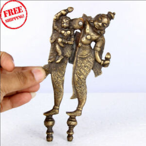 Details about OLD ANTIQUE BRASS BABY & MOTHER HANDCRAFTED BETEL NUT CUTTER  / SAROTA
