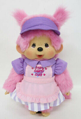 SEKIGUCHI Plush doll POP/'n CANDY CLUB Monchhichi M size Japan import NEW