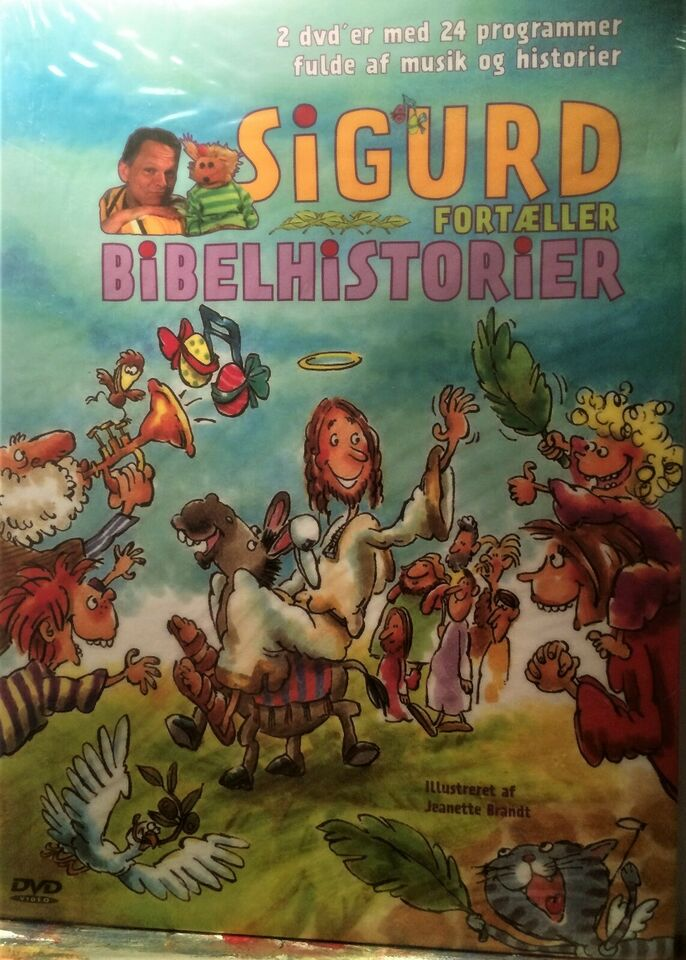 sigurd barrett bibelhistorie