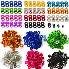 M6 M8 Aluminium Alloy Countersunk Washers Gasket Anodised Multi Color For Screw