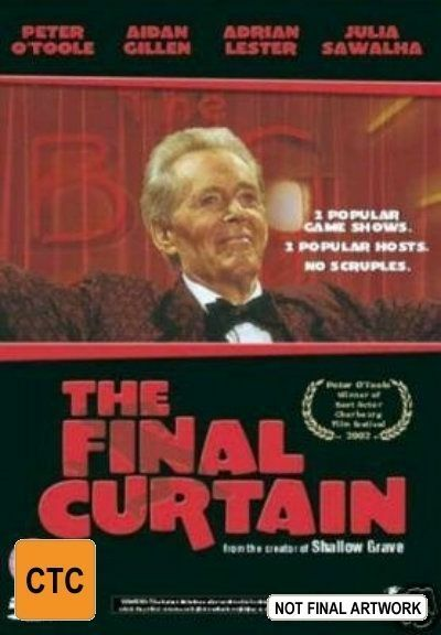 The Final Curtain (DVD, 2003)*R4*Peter O'Toole *Terrific Condition