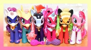 """❤️My Little Pony MLP Large 6"""" Fashion Style POWER PONIES Target Exclusive Lot❤️"""