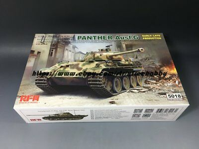 Rye Field Model RM-5018 Panther Ausf.G Early//Late productions in 1:35