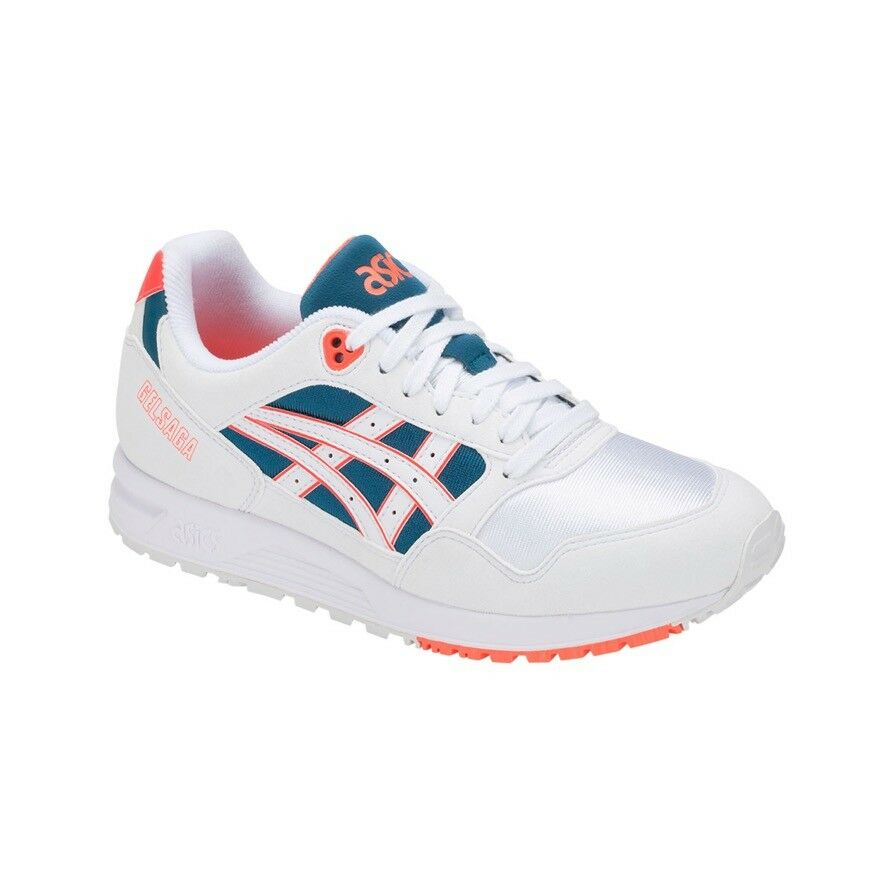 Asics GEL-Saga   1193A071-102   A071 Men's Runner Retro Miami White Flash Coral