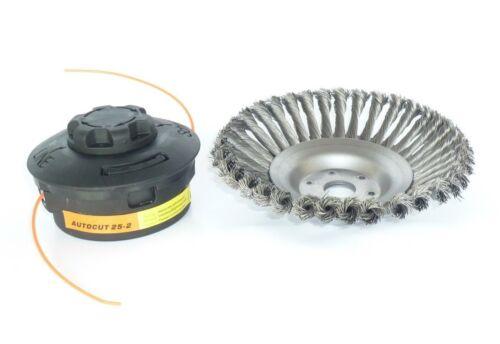 Motorsense Freischneider 200x25,4 mm Mähkopf Autocut für STIHL Unkrautbürste f