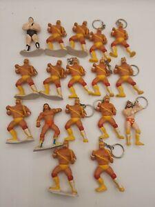 Dettagli su Lotto portachiavi wrestling Hulk Hogan e personaggi wrestling