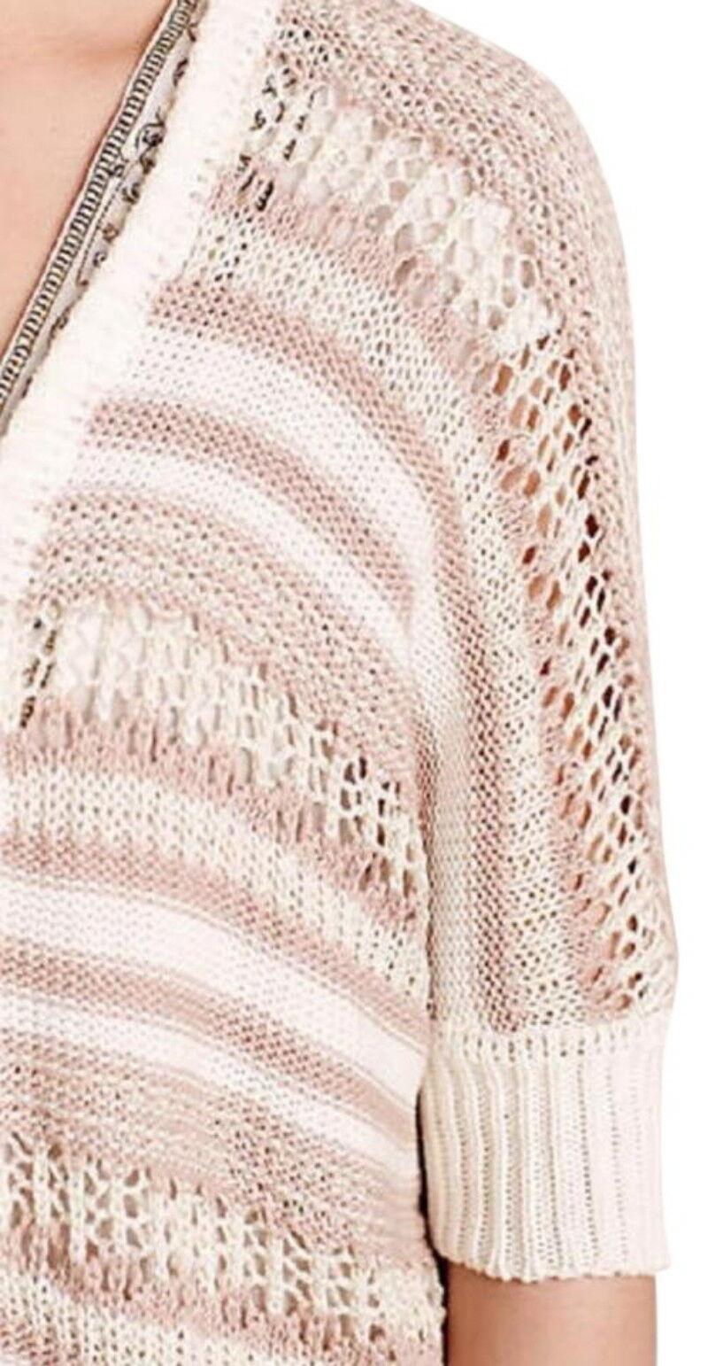 Anthropologie Sparkly Me Cardigan Cardigan Cardigan XSmall Small 0 2 4 6 Dolman Sweater Shimmering 4b1caa