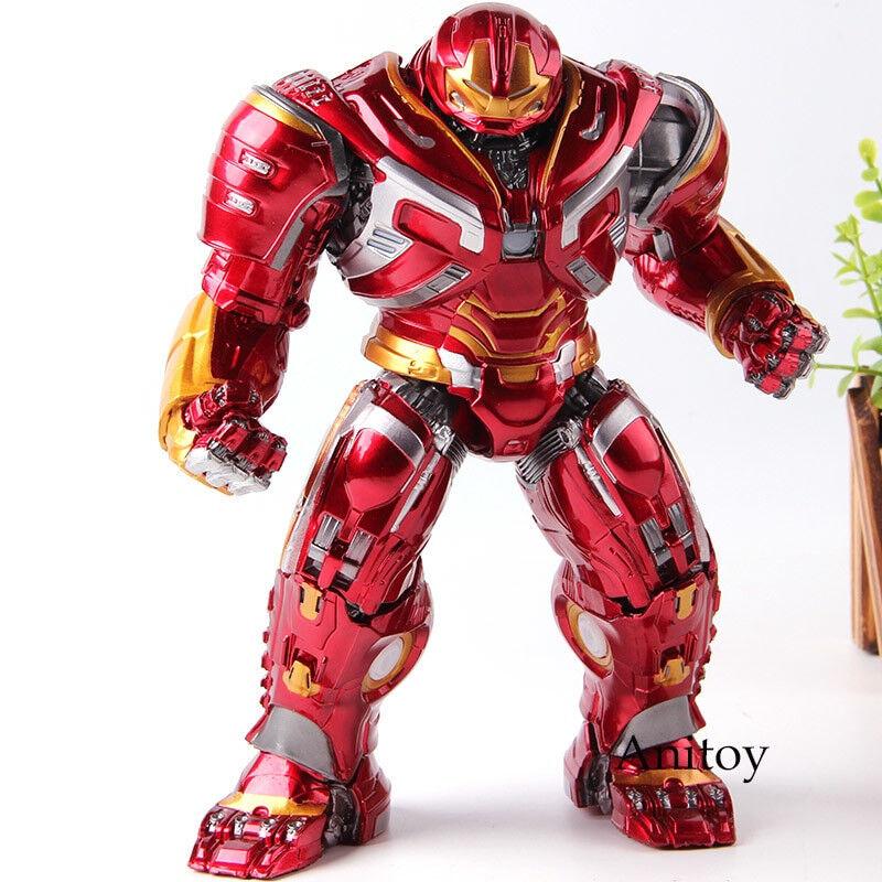 Avengers Infinity War IRON uomo HULKautoautobusTER giocattolo  Illuminazione PVC azione cifra Marvel  fornire un prodotto di qualità