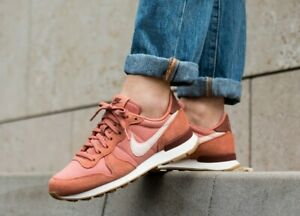 Da-Donna-Nike-INTERNAZIONALISTA-UK-3-5-US-6-EUR-36-5-Blush-Rosa-Bianco