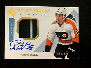 2017-18-SP-Authentic-Limited-Patch-Autographs-156-Robert-Hagg-FW-100