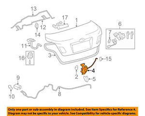 TOYOTA OEM 07-11 Camry Trunk-Lock or Actuator Latch Release ... on 2011 toyota camry rear suspension, 2009 saturn vue wiring diagram, 2014 ford f150 wiring diagram, 2010 hyundai sonata wiring diagram, 2012 mitsubishi lancer wiring diagram, 2011 toyota camry dash lights, 2010 nissan versa wiring diagram, 2011 toyota camry relay, 2011 toyota camry brake pads, 2011 toyota camry seats, 1997 lincoln town car wiring diagram, 2011 toyota camry radio upgrade, 2012 dodge avenger wiring diagram, 2012 chevrolet silverado wiring diagram, 2011 toyota camry door, 1995 toyota camry wiring diagram, 2002 toyota camry wiring diagram, 2011 toyota camry radiator, 2012 jeep grand cherokee wiring diagram, 2011 toyota sequoia wiring diagram,