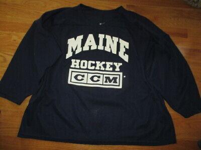 CHOICE University of Maine Black Bears Hockey Jersey NCAA College Jacket Patch