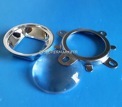 90-120degree 44mm Lens+Reflector Collimator+Fixed bracket F 20W 30W 50W 70W 100w
