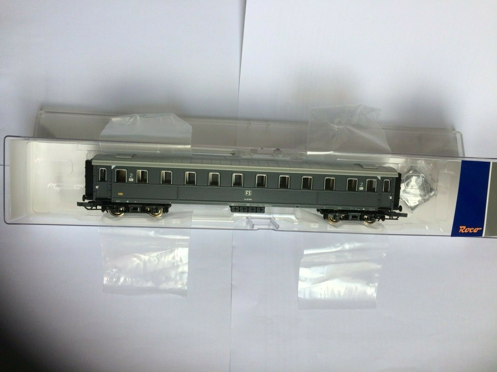 Roco 74603 - Carrozza FS Serie 30000    2  classe epoca IV ce7cdd