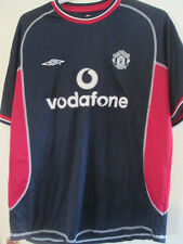Manchester United 2000-2001 Away Football Shirt Size Large /35598