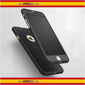 Funda-360-iPhone-6-de-4-7-034-Negro-Cristal-Templado