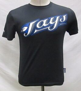Toronto-Blue-Jays-Men-039-s-Short-Sleeve-Cool-Base-Shirt-MLB-Majestic-Size-2XL