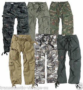 Image is loading SURPLUS-AIRBORNE-MILITARY-CARGO-TROUSERS-MENS-ARMY-VINTAGE- cfc848699bc18