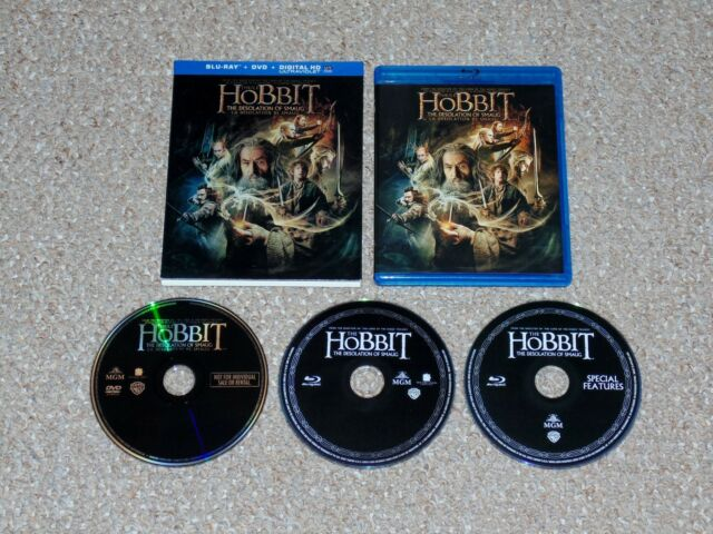 The Hobbit: The Desolation of Smaug Blu-ray/DVD Combo with Slip Cover Canadian