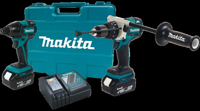 5.0Ah Combo Kit Makita XT257TB 18V LXT Lithium-Ion Brushless Cordless 2-Pc