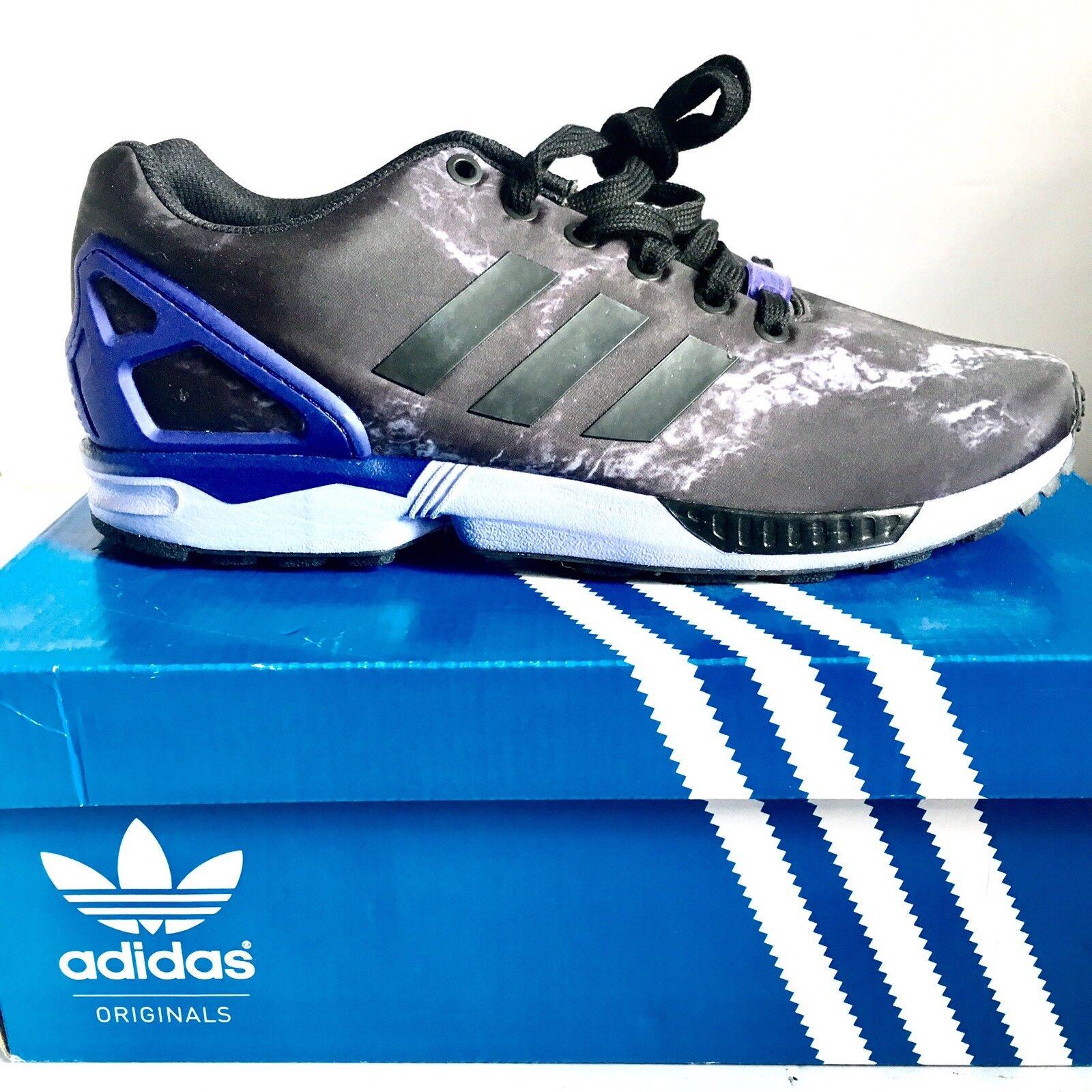 Adidas zx donna, flusso in nero della donna, zx formazione viola scarpa da ginnastica taglia 9,5 m 3ddb6a