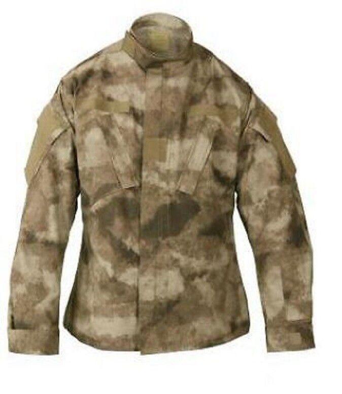 Us acu Army Military a-tacs atacs au acu Us outdoor camuflaje coat chaqueta Medium Long 84986e