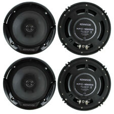 Kenwood KFC-1666S 6.5 Inch 300 Watt 2-Way Car Audio Door Coaxial Speakers (4)