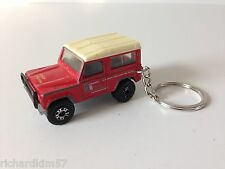 RARE Matchbox LAND ROVER NINETY Custom KEY CHAIN - RANGE Off Road 4x4 Sport 80s