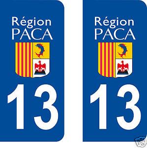 sticker-autocollant-plaque-immatriculation-auto-Departement-Bouches-du-Rhone-13