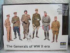 MAS35108 Masterbox 1:35 - The Generals of WWII   plastic model figures MASTERBOX