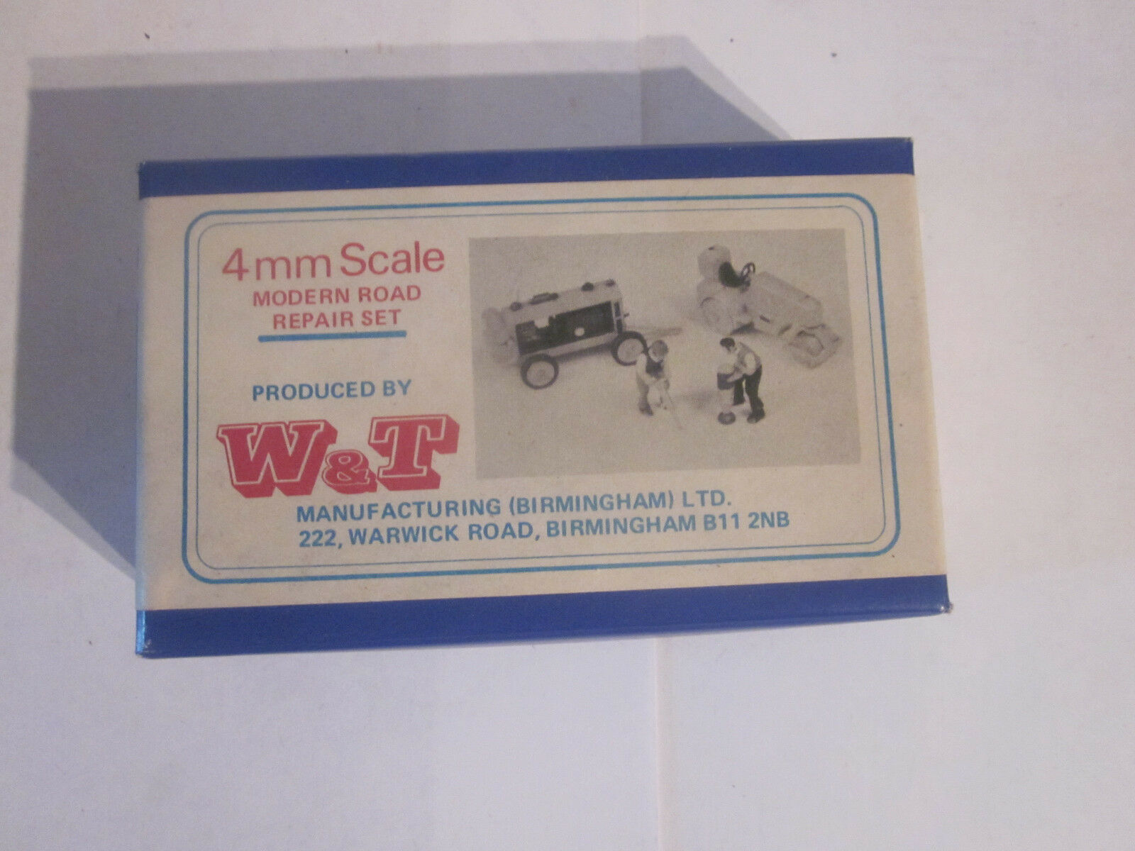 W&t kit 2 engins de chantier art nr d1 NEUF + neuf dans sa boîte