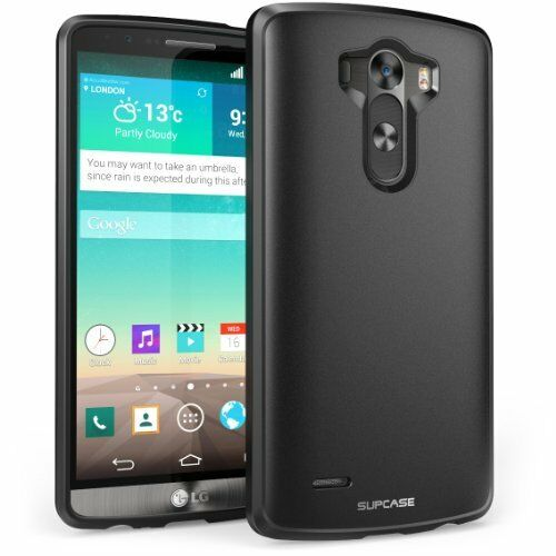 SUPCASE LG G3 Case - Unicorn Beetle Premium Hybrid Protective Case  Black Black