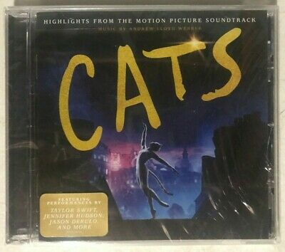 Andrew Lloyd Webber Cats Highlights From The Motion Picture Soundtrack 2019 Cd For Sale Online Ebay