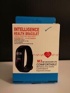 Armband mit Pulsmesser Fitness tracker Schrittzähler Smartwatch für Damen Herren