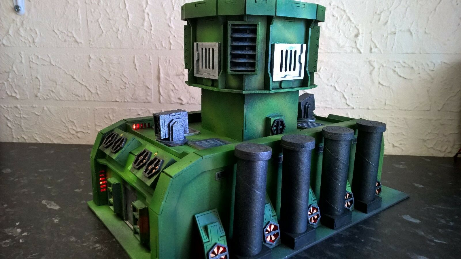 Exped outpost warhammer 40k wargame infinity building terrain scenary Legion