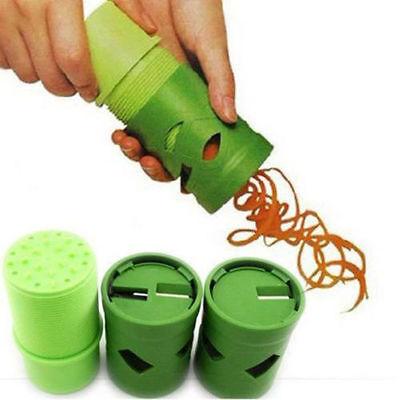 Kitchen Tool Vegetable Fruit Slicer Cutter Spiral Shred Chopper Peeler Twister T