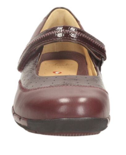 Hazel In Leather New Shoes Uk4 Un Clarks Brand Box qv6C0anw